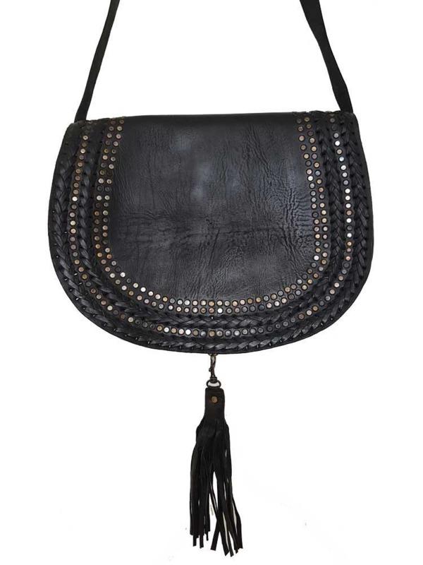 Verbazingwekkend Boho Tas Farah Zwart XL - Bohemian stijl | Boho Babe EE-07